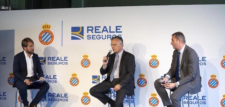 El RCD Espanyol, con un seguro 'Reale'