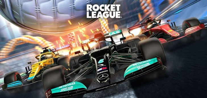 La Fórmula 1, presente en la Rocket League