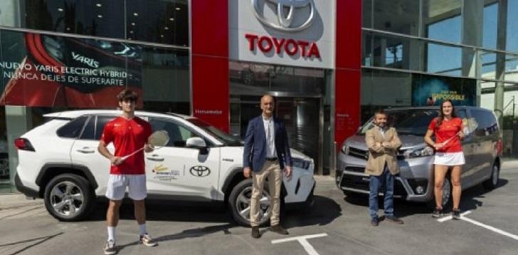 La federación de bádminton renueva con Toyota