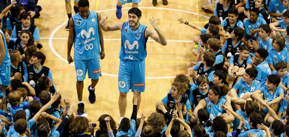 Movistar Estudiantes tiene una de las mayores canteras del baloncesto español, con 2.000 jugadores y jugadoras