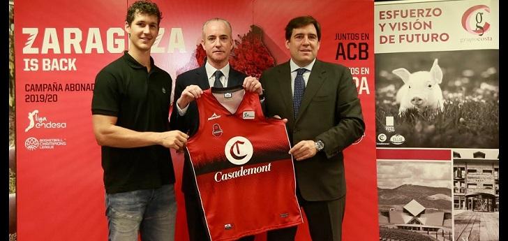 El Basket Zaragoza estrena patrocinio principal con la marca de embutidos Casademont