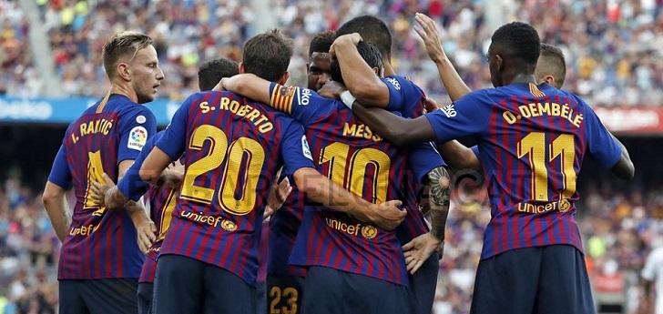 El Barça cubre la salida de Betfair con la rusa 1xbet hasta 2024