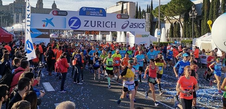 Coca-Cola vuelve a inscribirse al Maratón de Barcelona como patrocinador