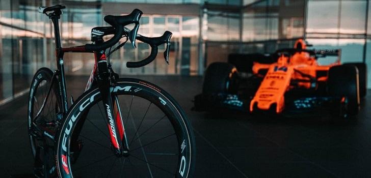 McLaren se hace con el 50% del equipo ciclista Team Bahrain Merida