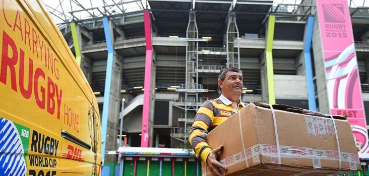 DHL renueva como patrocinador del Mundial de Rugby