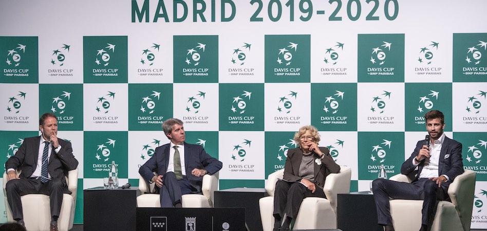 Kosmos baraja que la final de la Davis 2020 sea en el Wizink Center de Madrid