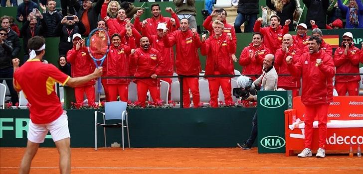La ITF dará a conocer durante los próximos días si asigna la celebración de la fase final de la Copa Davis 2019 a Madrid o a Lille