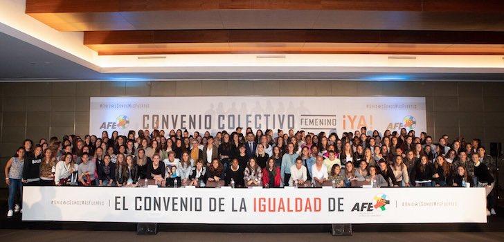 Las jugadoras irán a la huelga para forzar el convenio de fútbol femenino