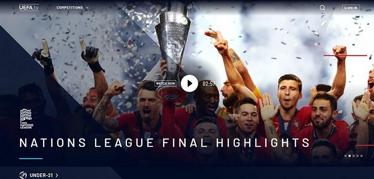 La Uefa lanza al mercado su OTT con contenido propio y canal de la Bundesliga