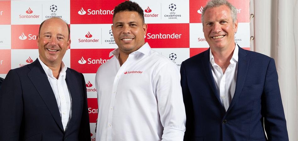 Banco Santander es uno de los nuevos patrocinadores de la Champions League