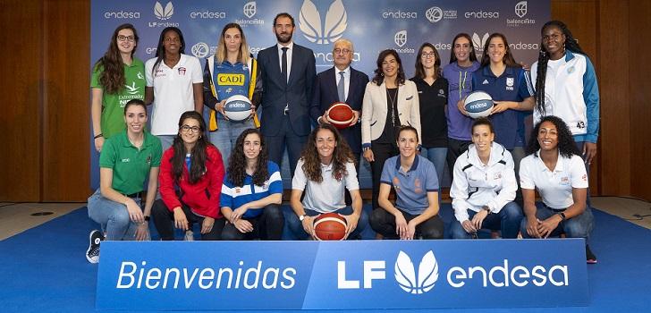 Endesa explotará los title rights de la Liga Femenina de baloncesto hasta 2023, con opción a ampliar