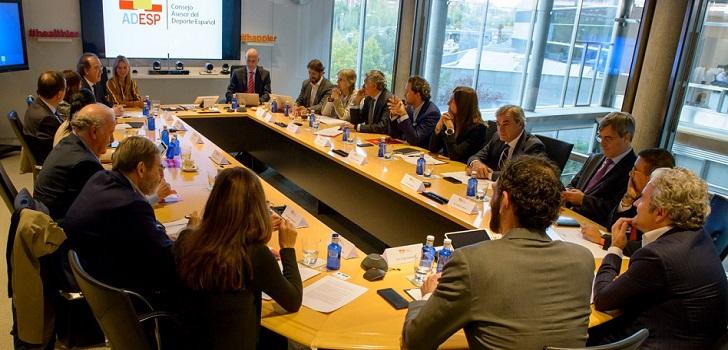 El Consejo Asesor del Deporte Español elaborará un plan de acción para aumentar ingresos vía mecenazgo y apuestas deportivas