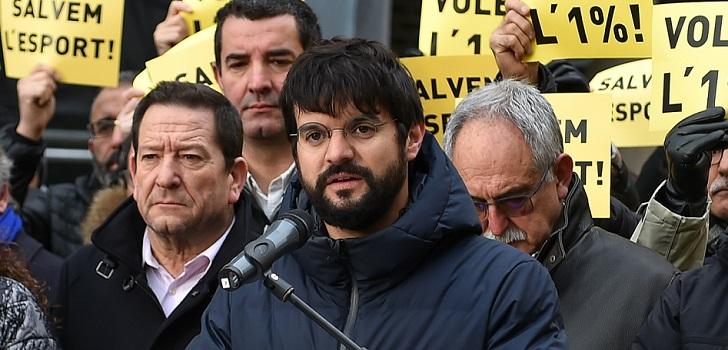 """Esteva (Ufec): """"Si no aumenta la financiación para deporte, Cataluña no podrá proyectarse al mundo como en el pasado"""""""