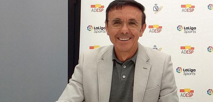 """José Hidalgo (Adesp): """"Pedimos al Gobierno la coordinación entre federaciones y administraciones para acompañar al atleta desde la infancia y durante toda su vida"""""""