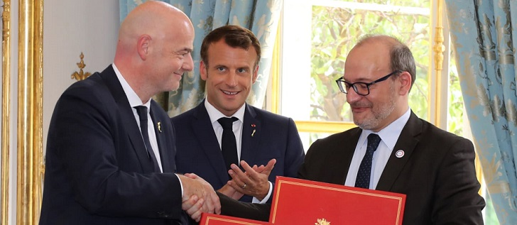 El máximo organismo del fútbol mundial ha firmado un acuerdo de cooperación con la Agencia Francesa de Desarrollo para colaborar en futuros proyectos sobre educación e igualdad de género en le región.