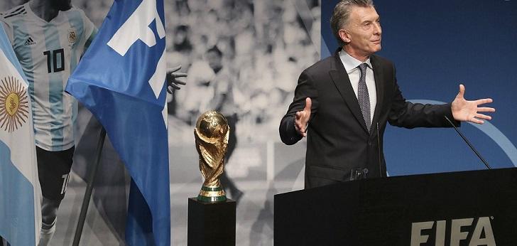La Fifa nombra presidente de su fundación al expresidente de Argentina Mauricio Macri