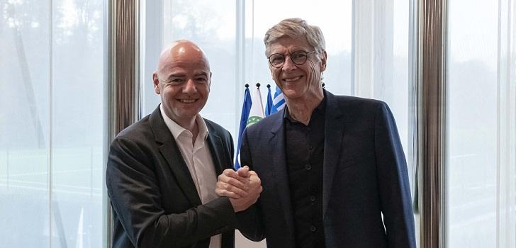 La Fifa recluta a Arsène Wenger para dirigir el desarrollo global del fútbol