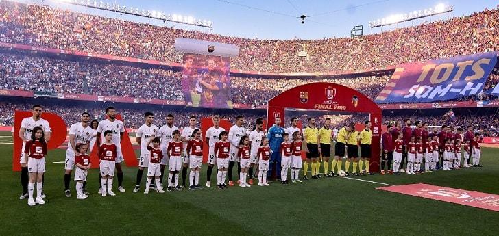 Dazn logra entrar en el fútbol español: compra la Copa del Rey a Mediaset