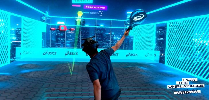 La empresa japonesa se ha asociado con una empresa de RV especializada en tecnologías emergentes para desarrollar un videojuego, denominado Play The Unplayable Experience, en el que los participantes pueden probar sus nuevas palas de pádel.
