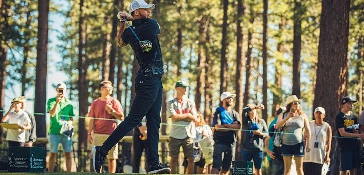 El tricampeón de la NBA y estrella internacional Stephen Curry vestirá ropa de la marca Callaway tras el acuerdo con la compañía de artículos de golf.