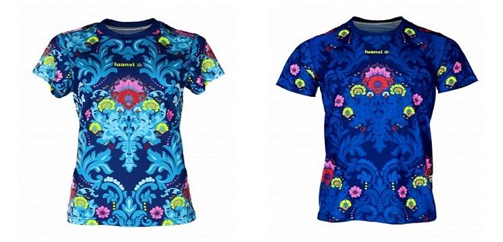 La empresa de ropa deportiva ha querido homenajear las fiestas de la Comunidad Valenciana creando un modelo folklórico de camiseta.