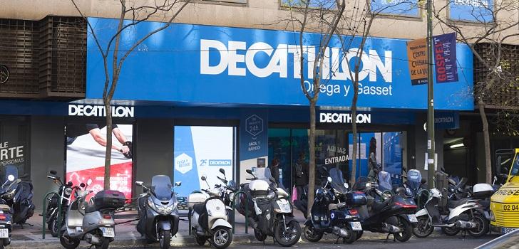 El beneficio neto de Decathlon también cayó, de 128 millones a 96,6 millones de euros