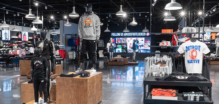 Foot Locker concentra el grueso de su negocio en Estados Unidos