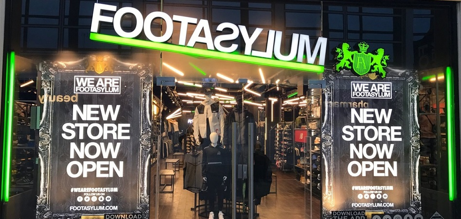 JD Sports entra en el capital de la cadena de 'sneakers' Footasylum