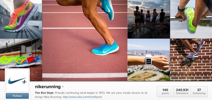 Nike se asocia con Instagram para aumentar su e-commerce