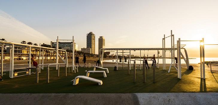 Nike rehabilita un espacio de entrenamiento 'outdoor' en la Barceloneta