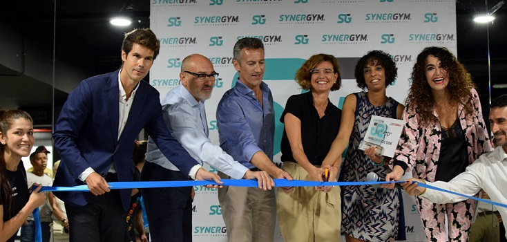 Synergym inaugura un club en Barcelona