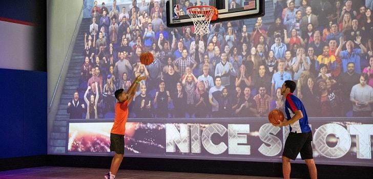 La NBA inaugura un espacio experiencial en un 'resort' de Disney en Florida