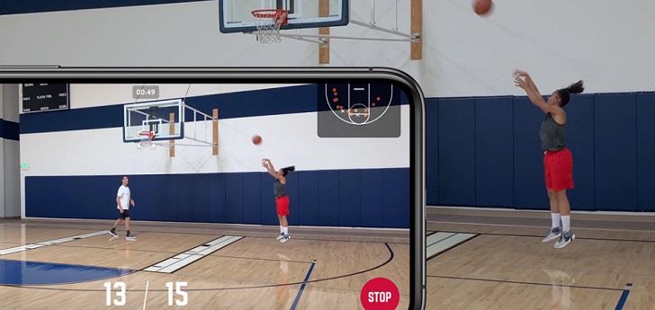 La aplicación HomeCourt utiliza inteligencia artificial enfocada al desarrollo de los jugadores. La liga norteamericana de baloncesto la empleará en los programas que desarrolla a escala global con los jóvenes.