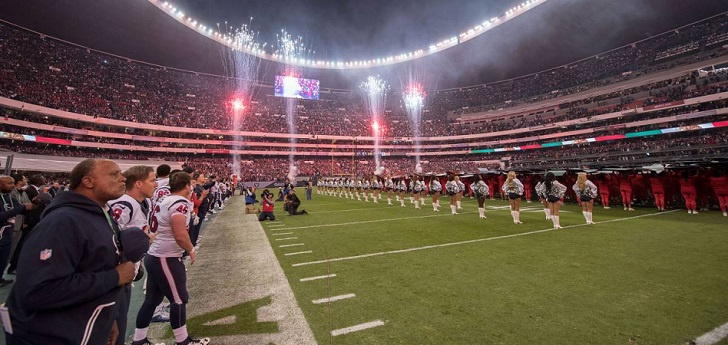 La NFL volverá a jugar un partido oficial en México hasta 2021