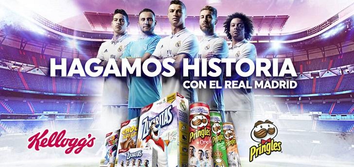 El Real Madrid crece en Latinoamérica con el patrocinio de Kellogg's