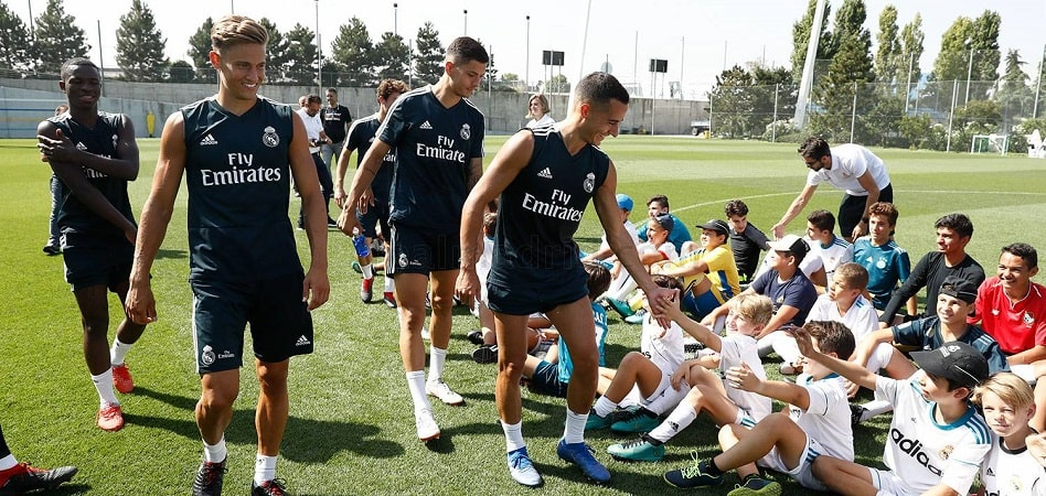 Real Madrid sigue en el 'partido' por la vida saludable con GSK