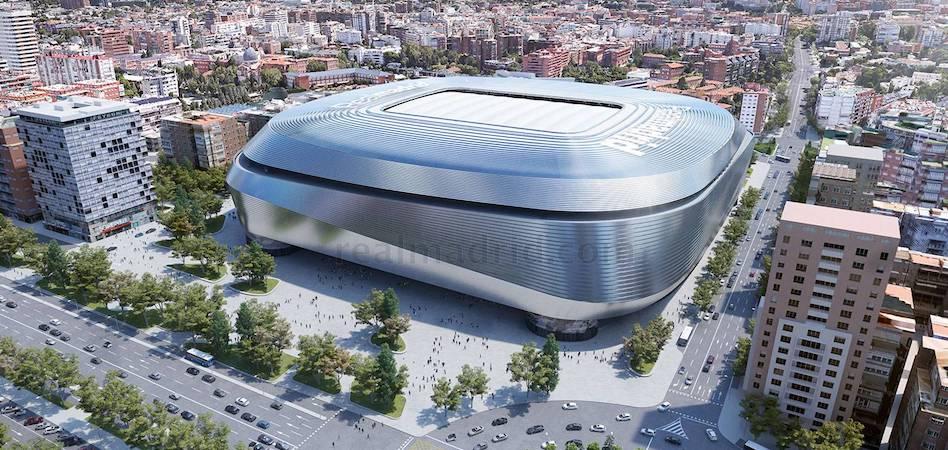 El Madrid construirá una plaza de 20.000 metros cuadrados en la fachada del Paseo de la Castellana