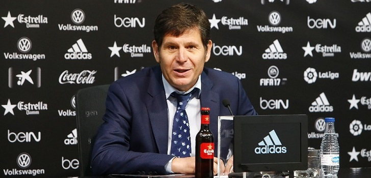 El Valencia CF ratifica a Mateu Alemany como director general del club