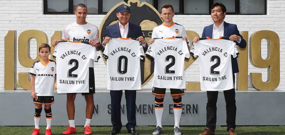 El Valencia CF 'acelera' en patrocinio global con la china Sailun Tyre