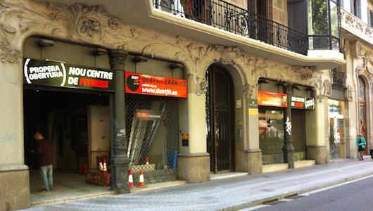 La cadena duet fit abre en el coraz n de barcelona su for Gimnasio gran via