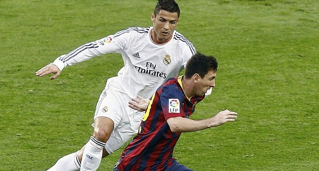 Leo Messi y CR7