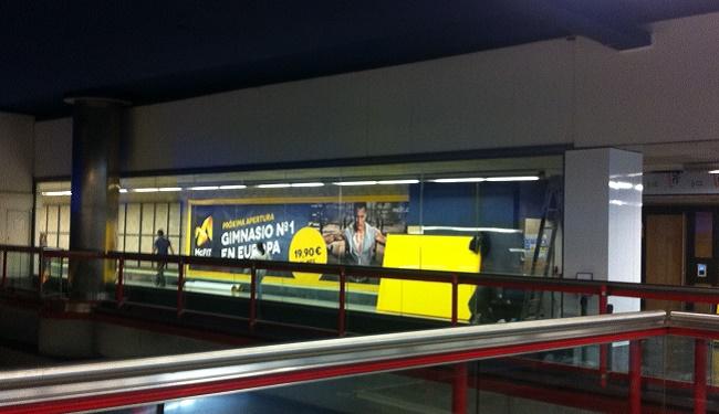 McFit 'se sube' al Metro de Madrid y abrirá en la estación
