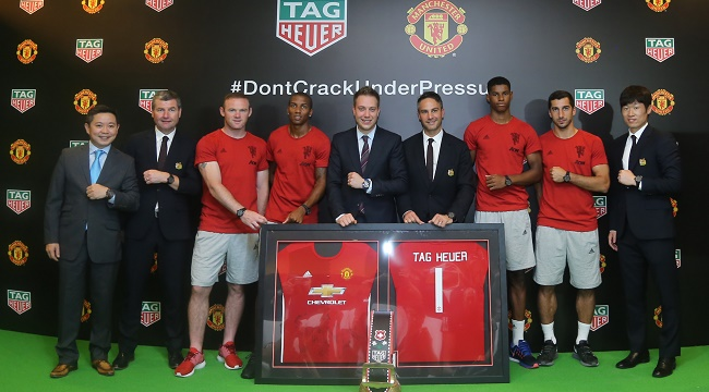 Manchester United TAG Heuer 650