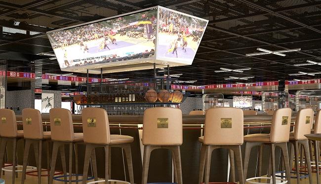 AN Grup invierte más de dos millones en el NBA Café de Barcelona ... 1ee6142ff89