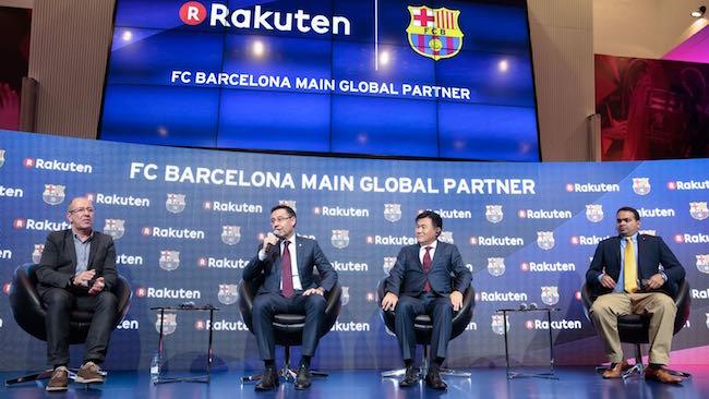 El Barça firma a Rakuten como socio principal y de innovación por 55 ... c108caa1424