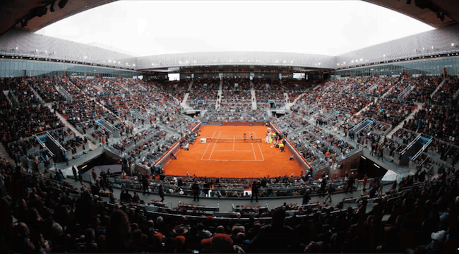 Mutua Madrid Open Pista Central 650