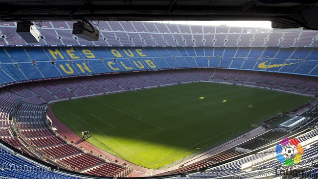 La Liga Intel Camp Nou 650