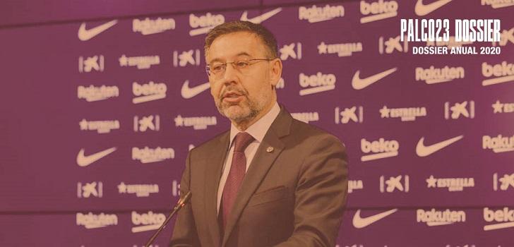 El FC Barcelona se despide de Bartomeu tras un año en el Dragon Khan