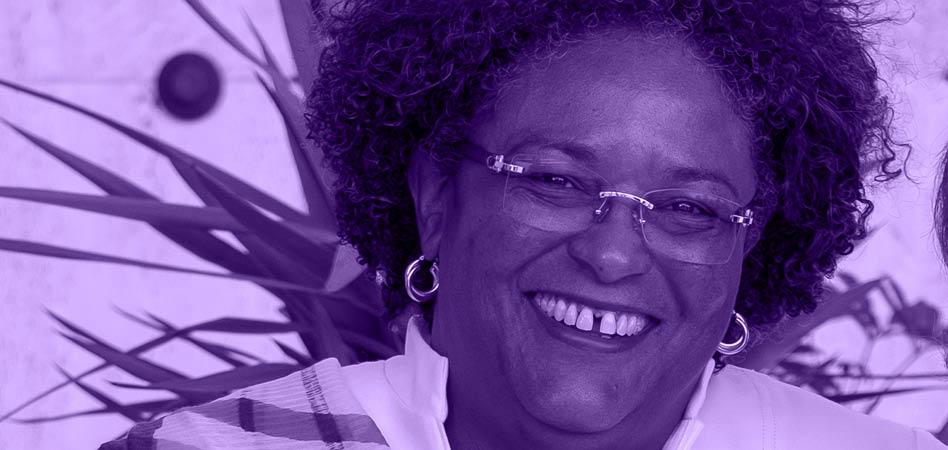 Mia Mottley, al frente del Gobierno de Barbados