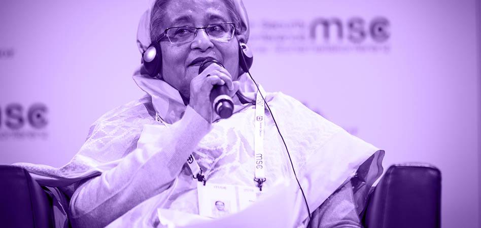 Sheikh Hasina, heredera política del padre de la independencia de Bangladesh